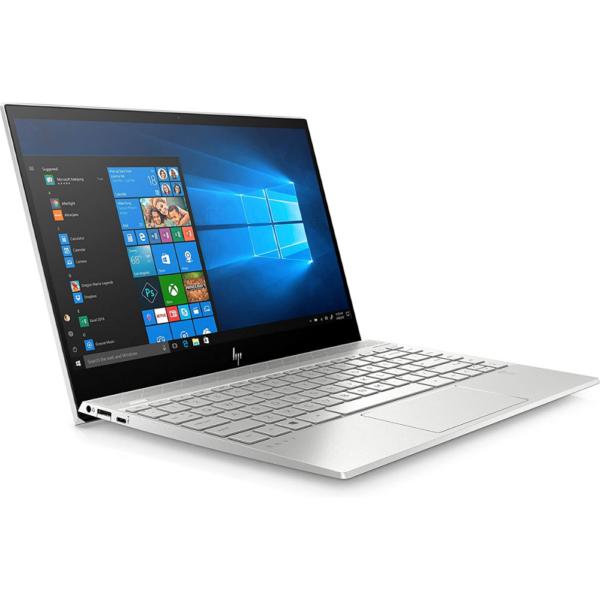 HP Envy 13-AQ0011 Ultra-Thin Core™️ i5-8265U 1.6GHz 256GB SSD 8GB RAM 13.3_ NATURAL SILVER