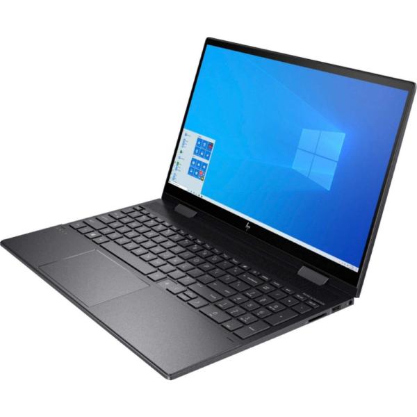 HP Envy 15M-DS1010 x360 AMD Ryzen™️ 5 4500U 2.3GHz 256GB SSD 8GB 15.6_ (1920x1080) TOUCHSCREEN BT WIN10 Webcam NIGHTFALL BLACK BACKLIT Keyboard. 1 Year Warranty