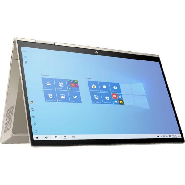 HP Envy x360 13M-BD0023 Core™️ i7-1165G7 2.8GHz up to 4.7 GHz Quad Core 512GB SSD 8GB RAM 13.3_ (1920x1080) TOUCHSCREEN BT WIN10 Webcam PALE GOLD BACKLIT Keyboard. 1 Year Warranty