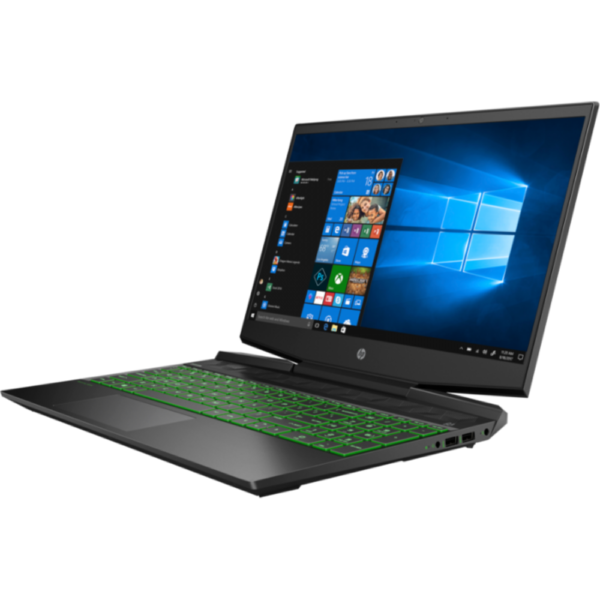 HP Pavilion 15-DK0056 GAMING Core™️ i5-9300H 2.4GHz Quad Core 256GB SSD 8GB RAM 15.6_ (1920x1080) MICRO-EDGE BT WIN10 Webcam NVIDIA®️ GTX 1650 4096MB BACKLIT Keyboard. 1 Year Warranty