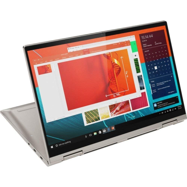 Lenovo YOGA C740-14IML 2-IN-1 Convertible Core™️ i5-10210U 1.6GHz Quad Core 256GB SSD 8GB 14_ (1920x1080) TOUCHSCREEN BT WIN10 Webcam MICA BACKLIT Keyboard FP Reader, 1 Year Warranty