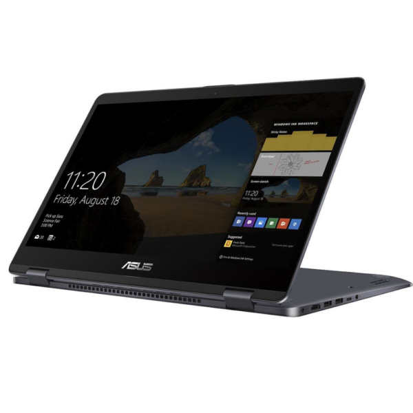 ASUS VivoBook Flip | Intel® Celeron® Dual-Core N3350 | Integrated Intel HD Graphics | 64GB eMMC | 4 GB RAM | Windows 10 pro