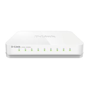 DLINK DGS-1008A '8-Port Gigabit Easy Desktop Switch