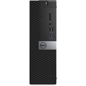 Dell OptiPlex 7050 Small Form Factor PC (9649SAP-U)- i7-7700(Quad Core,3.6GHz-4.2GHz), 16GB RAM , 500GB HDD/7200RPM, DVD-RW, GigaBit Ethernet, Windows 10 Pro