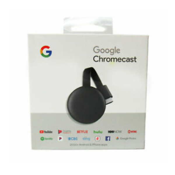 GOOGLE CHROMECAST STREAMING 3RD GEN