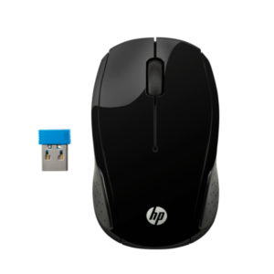 HP 200 BLACK WIRELESS MOUSE X6W31AA