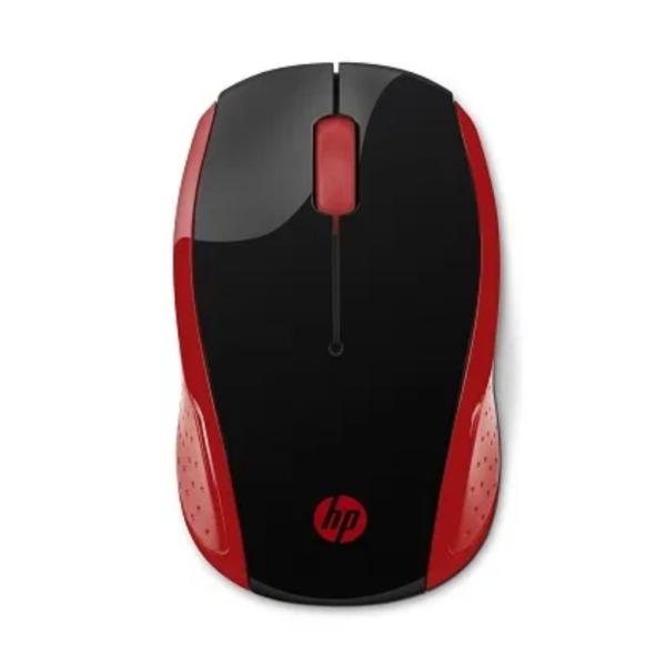 HP 200 RED WIRELESS MOUSE 2HU82AA