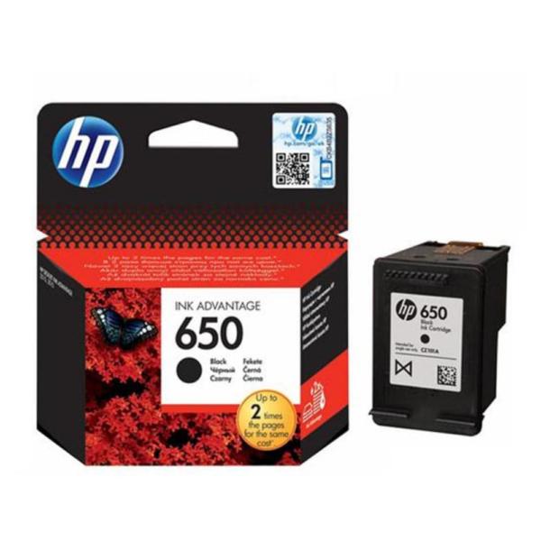 HP 650 BLACK INK