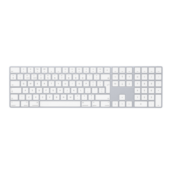 Magic Keyboard with Numeric Keypad - British English - Silver