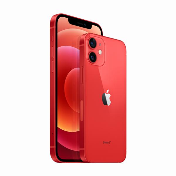 "APPLE iPHONE 12 MINI RED 5,4"" Super Retina OLED Apple A14 Boinic Chip 4GB RAM 64GB ROM iOS 14"