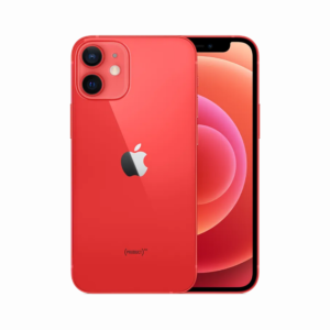 "APPLE iPHONE 12 MINI RED 5,4"" Super Retina OLED Apple A14 Boinic Chip 4GB RAM 64GB ROM iOS 14"