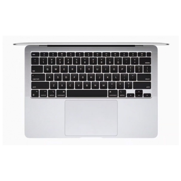 MGN93B_A Macbook Air 13_ M1 Chip 8-Core CPU _ 7-Core GPU _ 8GB Memory _ 256GB SSD _ (Silver )