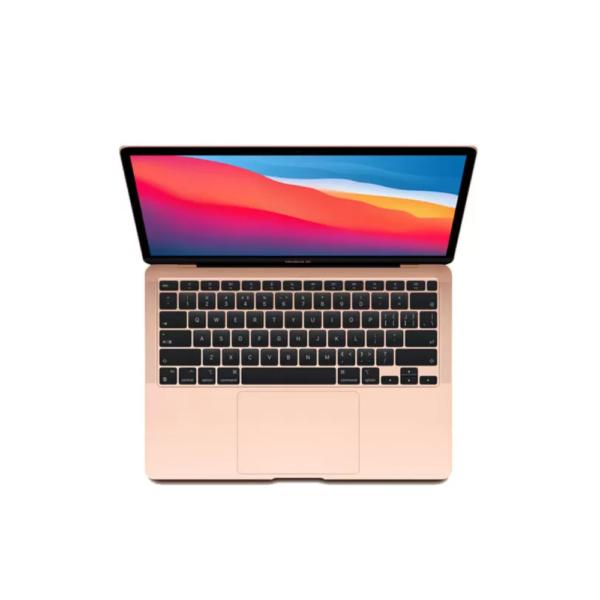 MGND3B_A Macbook Air 13_ M1 Chip 8-Core CPU _ 7-Core GPU _ 8GB Memory _ 256GB SSD _ (Gold)