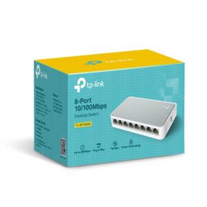 TP-Link 8-Port Unmanaged 10/100Mbps Desktop Switch TL-SF1008D