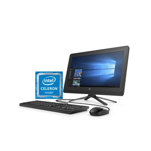 HP 20 AIO INTEL CELERON 1TB HDD 4GB RAM FREEDOS