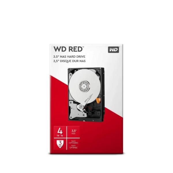 WESTERN DIGITAL 4TB NAS HDD INT